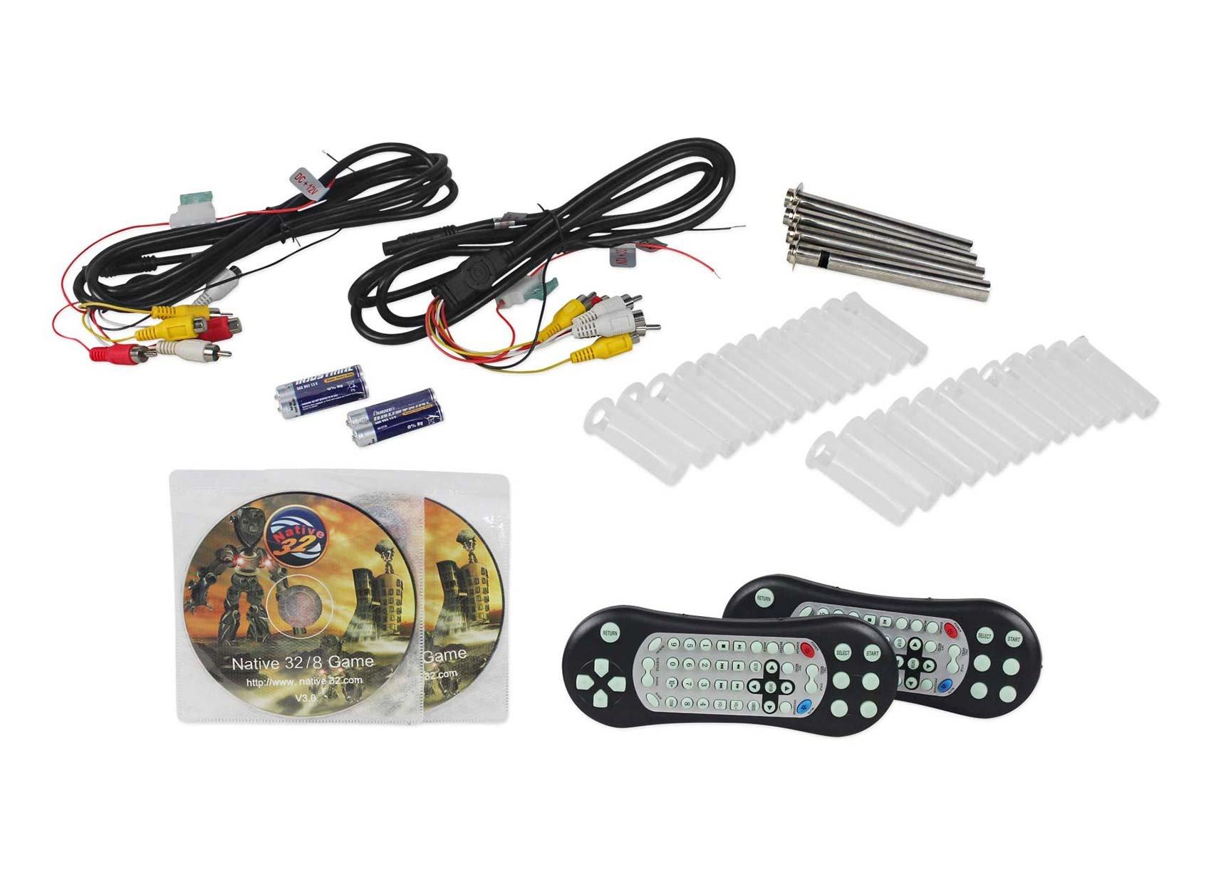 "Rockville RTSVD961-BK 9"" Black Touchscreen Dual DVD/HDMI Car Headrest Monitors by Rockville (Image #5)"