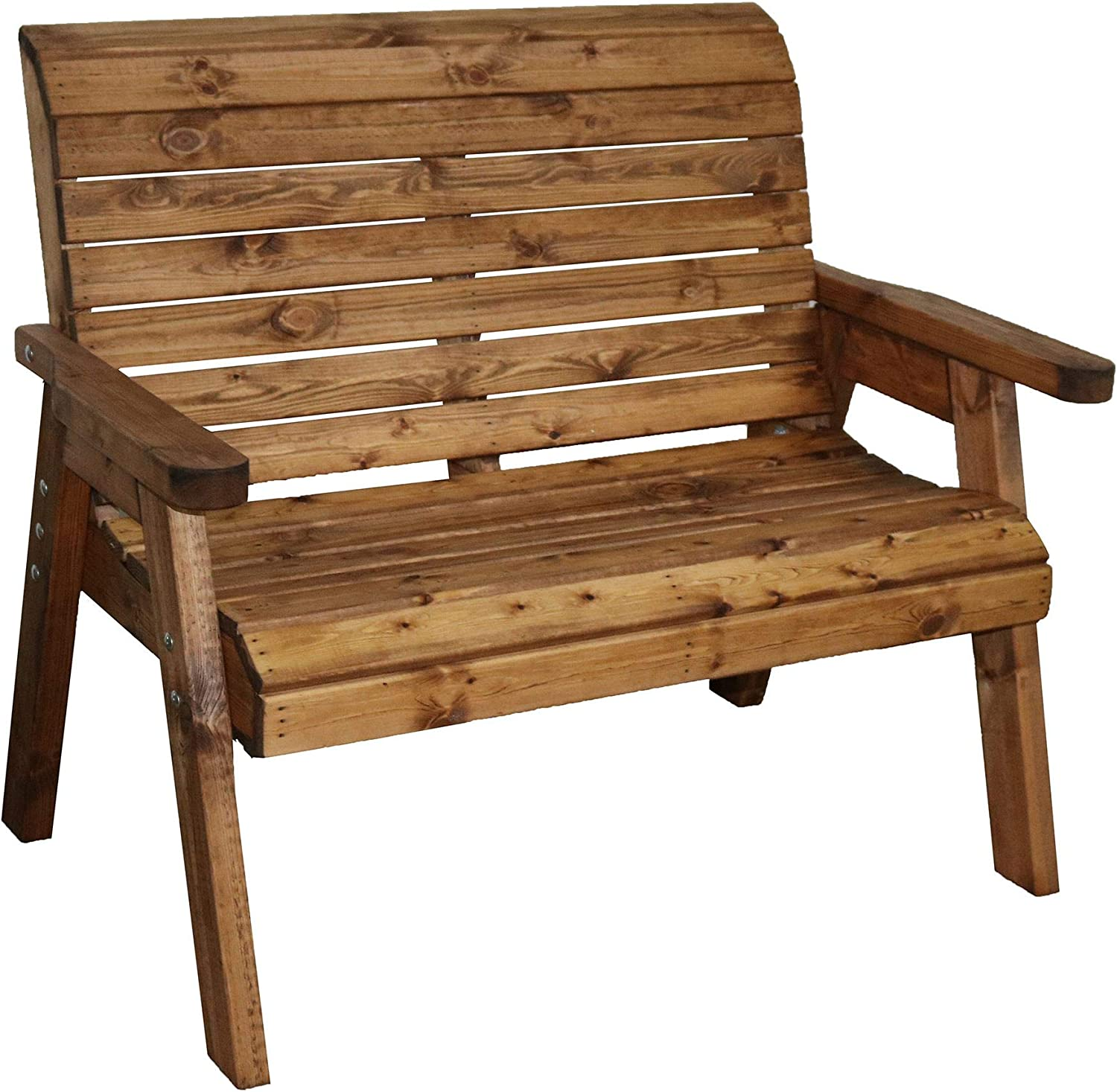 Garden Furniture 10 Seater High Back Bench Wooden Wood Supplied