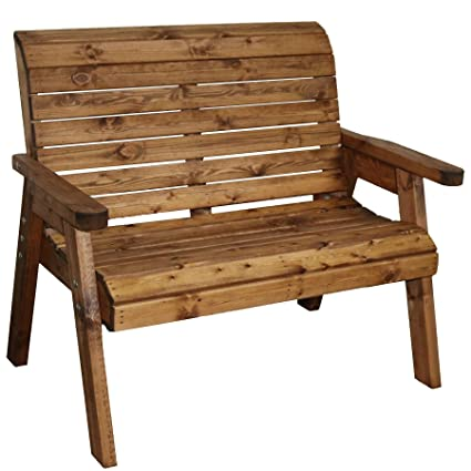 Brilliant Garden Furniture 2 Seater High Back Bench Wooden Wood Supplied Flat Packed Gamerscity Chair Design For Home Gamerscityorg