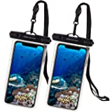 UNBREAKcable Universal Waterproof Pouch, IPX8 Waterproof Dry Bag Underwater Case for iPhone 12 Pro Max/11/Xs Max/XR/X/8 Plus