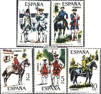Prophila Collection España Michel.-No..: 2130-2134 (Completa.edición.) 1975 Uniformes Militares (Sellos para los coleccionistas) Militar: Amazon.es: Juguetes y juegos