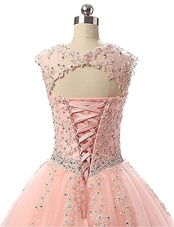 Quinceanera Dresses 2018 Vestidos DE 15 Anos Ball Gown Sweet 16 Dresses For Gradution Party Gowns at Amazon Womens Clothing store: