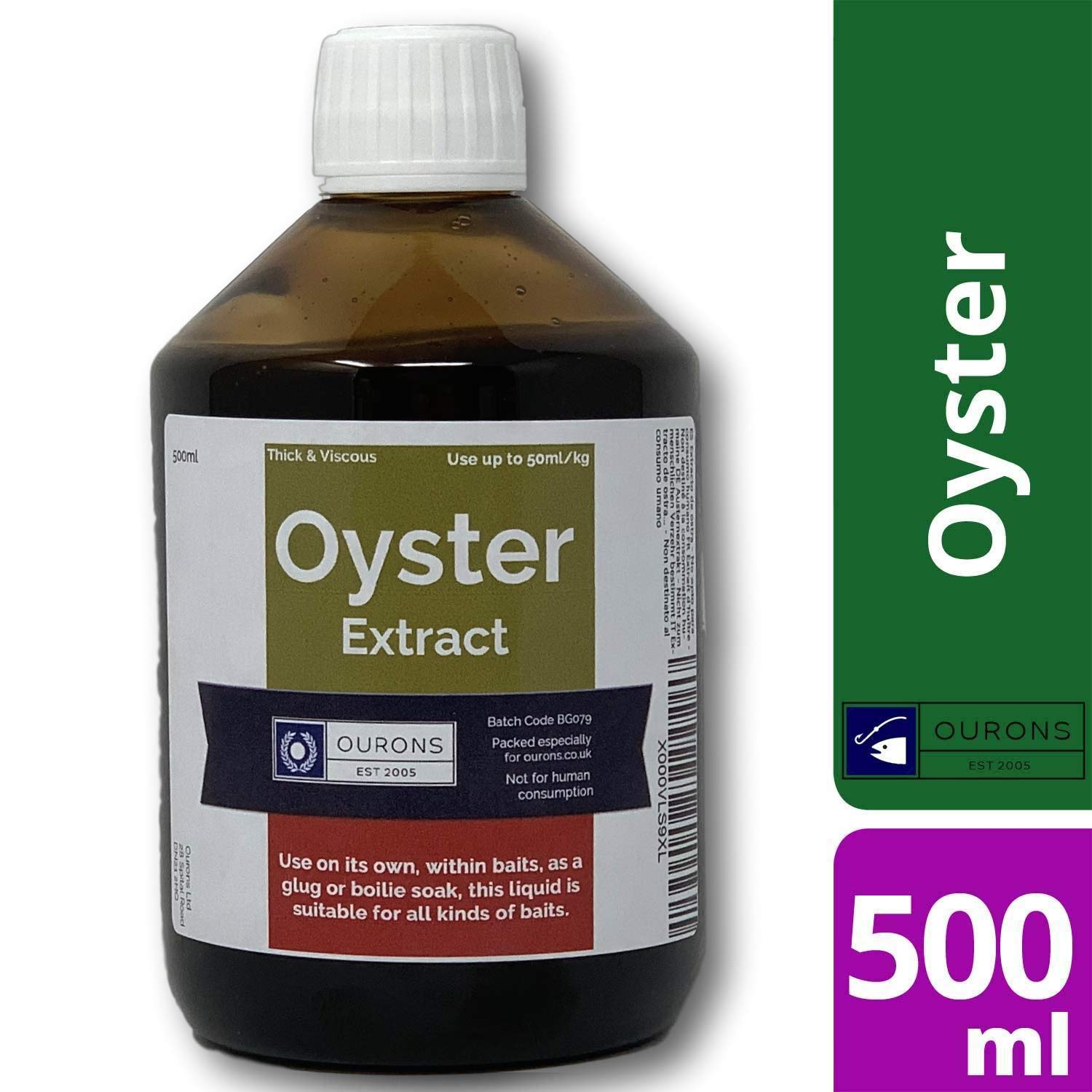 500ml Finest Liquid Oyster Extract - Premium Carp Fishing