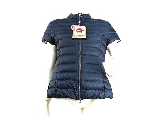 nouvelle arrivee bcb99 8af17 Colmar - Manteau - Doudoune - manches courtes - Femme bleu ...