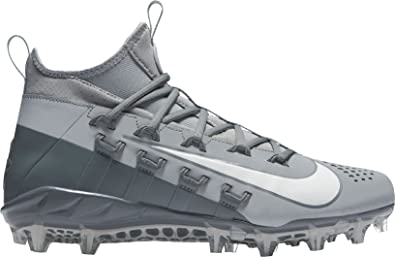 info for eddb3 f62fd Nike Men s Alpha Huarache 6 Elite Lacrosse Cleats (9, Grey White)
