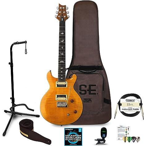 PRS SE - Guitarra con funda rígida: Amazon.es: Instrumentos musicales