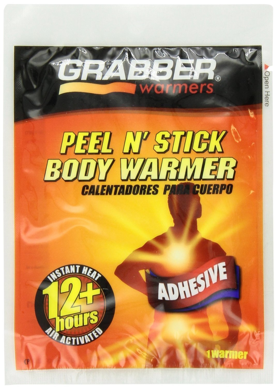 Grabber Warmers Grabber 12+ Hours Peel N' Stick Body Warmer, New Mega Pack 80-Count