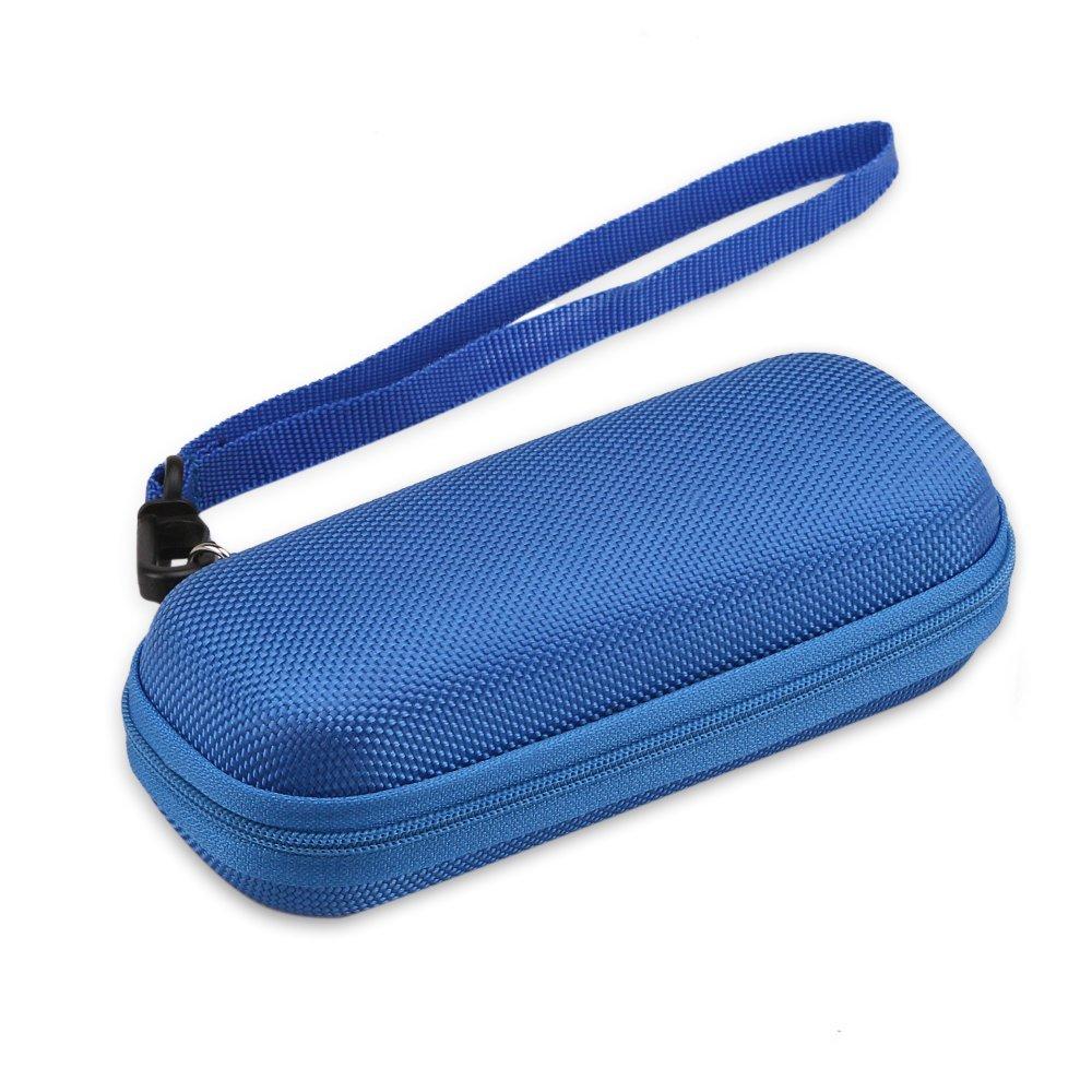 AGPTEK VR1 Duradera Cubierta Estuche para Organizar Grabadora de voz, Mp3 y Auriculares ect, Color Azul: Amazon.es: Oficina y papelería