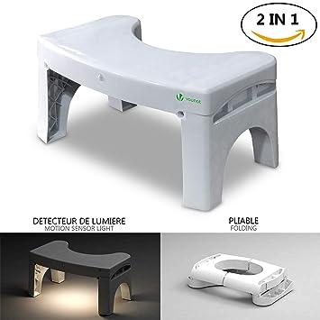 Dérapant Anti Tabouret Pour ToilettesDe Avec Achatpratique Physiologique Pliable m8On0Nvw