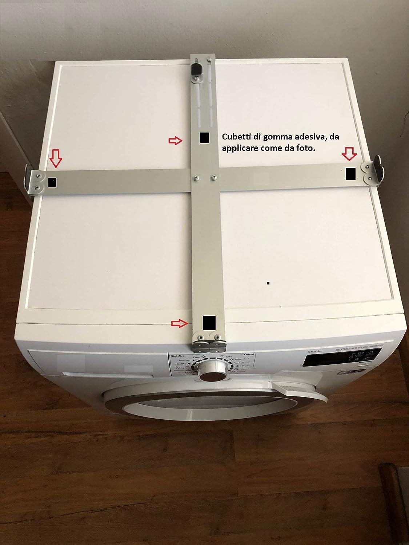 relación para secadoras/lavadoras Universal para ahorrar Espacio con posicionamiento de Columna