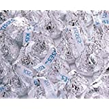HERSHEY'S Silver Kisses Milk Chocolate Candy 5lb Bag
