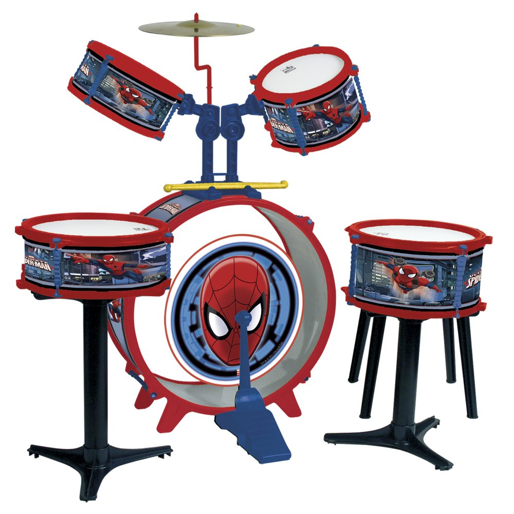 Reig Spiderman Drum kit 5-Piece