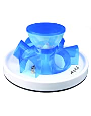 Trixie Cat Activity Tunnel Feeder - trains the cats skills