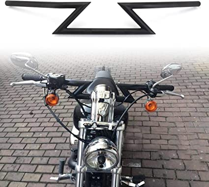 "22mm 7//8/"" Universal Motorcycle Drag Z-Bar Handlebar for Honda Yamaha"