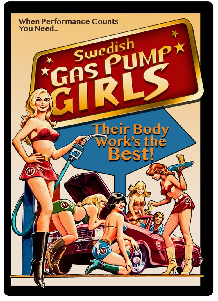 Swedish Gas Pump Girls DVD
