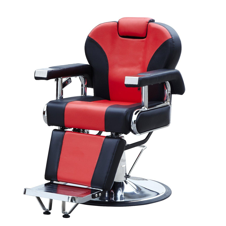 Amazon Walcut Hydraulic Reclining Barber Chair Salon Spa