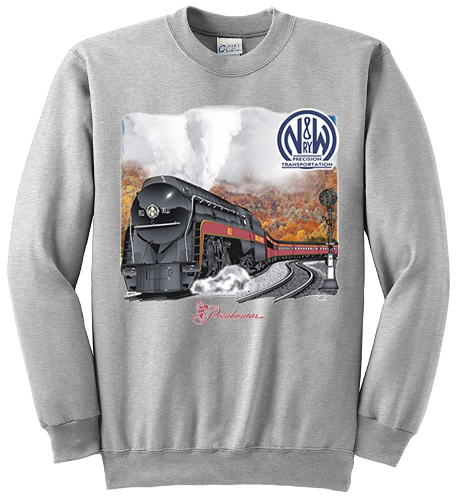 Norfolk and Western 611 Authentic Railroad Sweatshirt [10018]