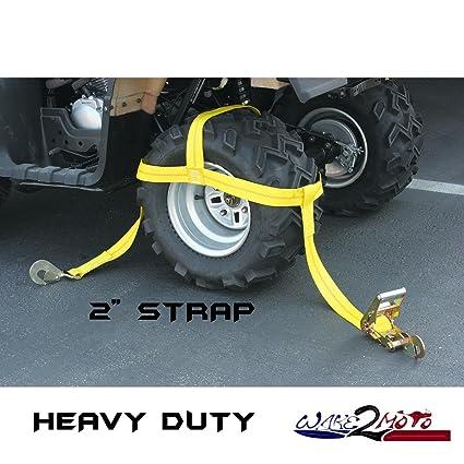 Trinquete Correa para rueda neumático llanta capó ATV Quad Muv lado por lado SUV