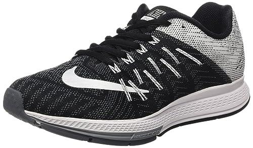 detailed look 1e075 81e2b Nike Women's Air Zoom Elite 8 Black/White/Wolf Grey/Drk Grey ...