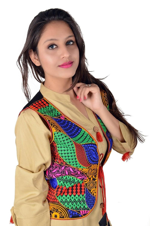 Women Ethnic Cotton Short Jackets