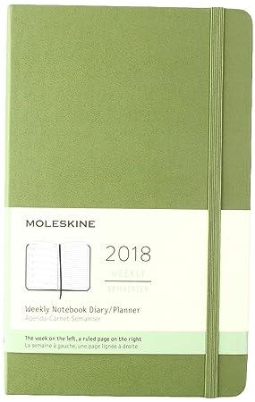 Calendario semanal, de Moleskine, 12 meses, tapa dura, color ...