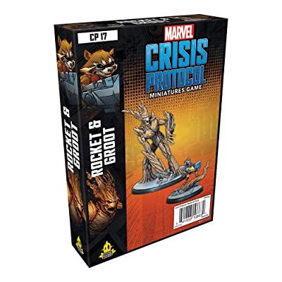 Atomic Mass Games Marvel Crisis Protocol: Rocket and Groot: Toys & Games