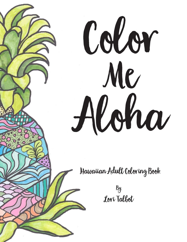 Free Hawaiian Coloring Pages by Coco Moon Hawaii | 1360x1051