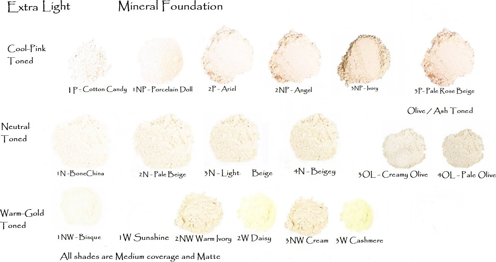 Light Beige- Light Neutral Beige Loose Mineral Foundation - All Natural 20gm Jar