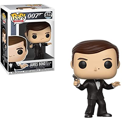 Funko Pop! Movies: James Bond Roger Moore Collectible Figure: Funko Pop! Movies:: Toys & Games