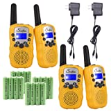 Amazon Price History for:Swiftion Rechargeable Kids Walkie Talkies 22 Channel 0.5W FRS/GMRS 2 Way Radios with Charger and Rechargeable Batteries (Yellow, Pack of 4)