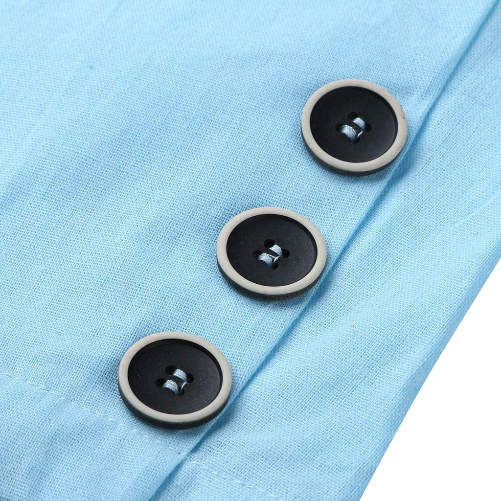 Hstore Men Slim Fit Cotton Blend Jacket Coat Solid Long Sleeve Thin Suits Blazer Outwear