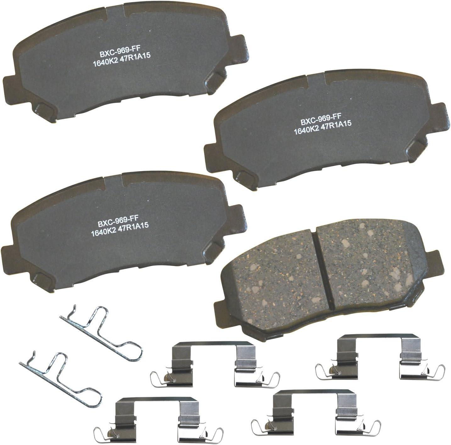 Disc Brake Pad Set-Stop Ceramic Brake Pad Front Bendix SBC1252