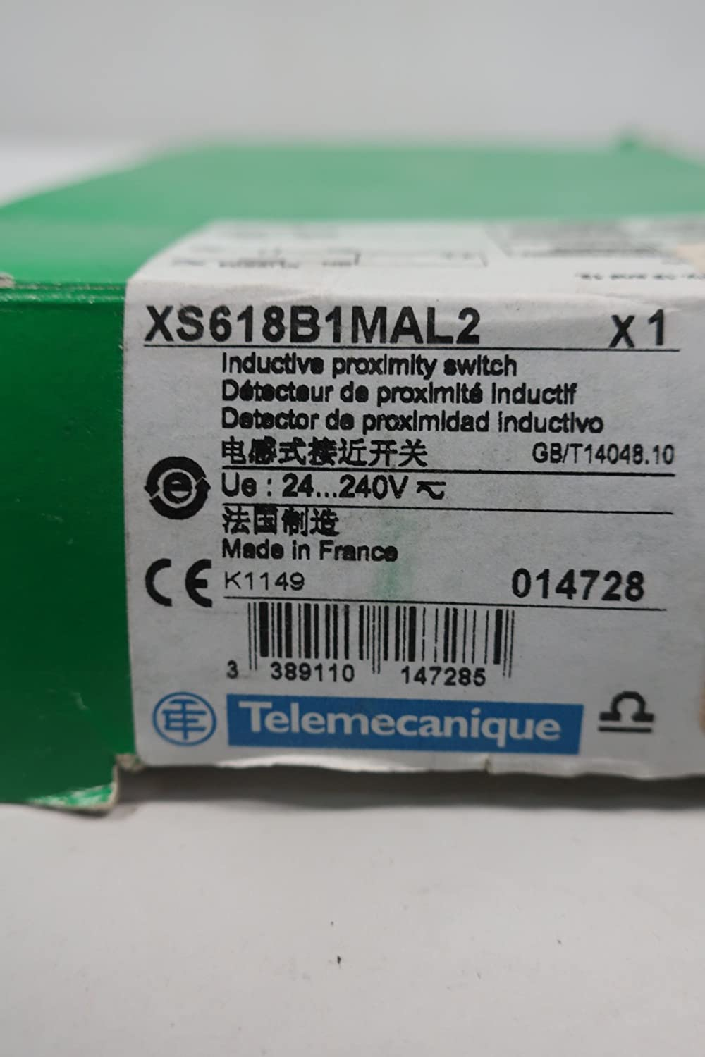 SCHNEIDER XS618B1MAL2 INDUCTIVE Proximity Sensor 24-240V-AC D618918: Amazon.com: Industrial & Scientific