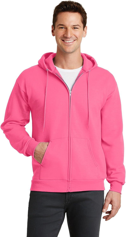 Port /& Company Mens Classic Lightweight Hooded Sweatshirt