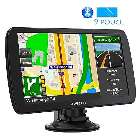 AWESAFE 9 - Dispositivo de navegación automático para Coche ...