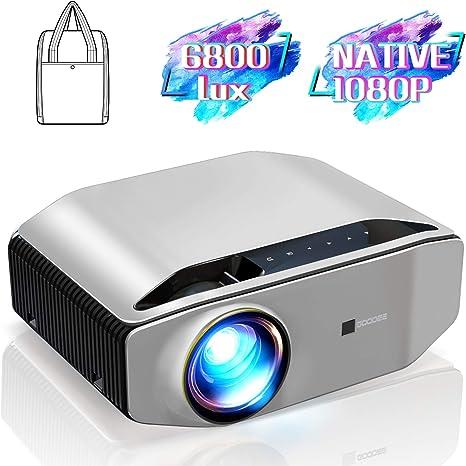 Proyector nativo 1080P GooDee YG620 proyector de vídeo LED ...