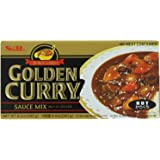S&B Golden Curry Sauce Mix, Hot, 8.4-Ounce (Pack of 5)