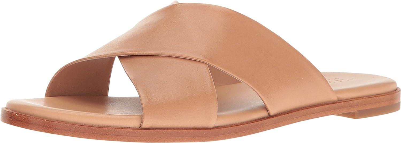 Cole Haan Women's Anica Criss Cross Slide Sandal B06XHJBDJR 9 B(M) US|Sahara