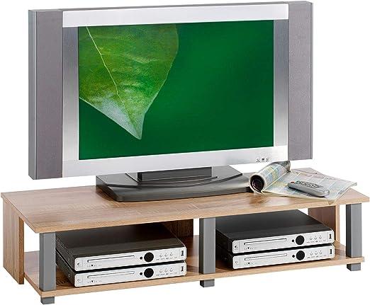 TV de muebles mueble bajo mesa de televisión de TV Mesa de TV Element Gero, Sonoma roble laminado: Amazon.es: Juguetes y juegos