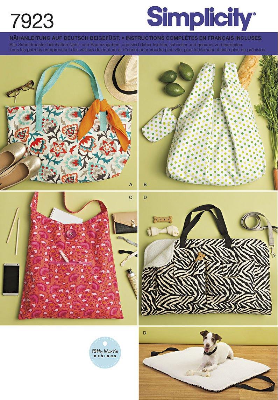 Simplicity aufklappbar 7923 Tasche