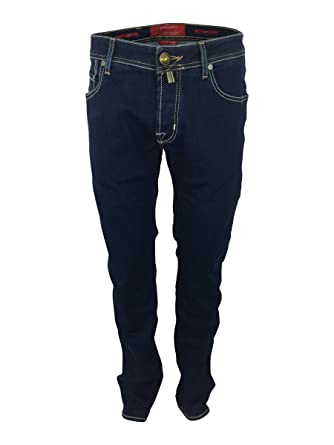 b35409d13748c1 Jacob Cohen J622 Comfort 622-08790 Mens Straight Fit Jeans In Indigo Blue  W34: Amazon.co.uk: Clothing