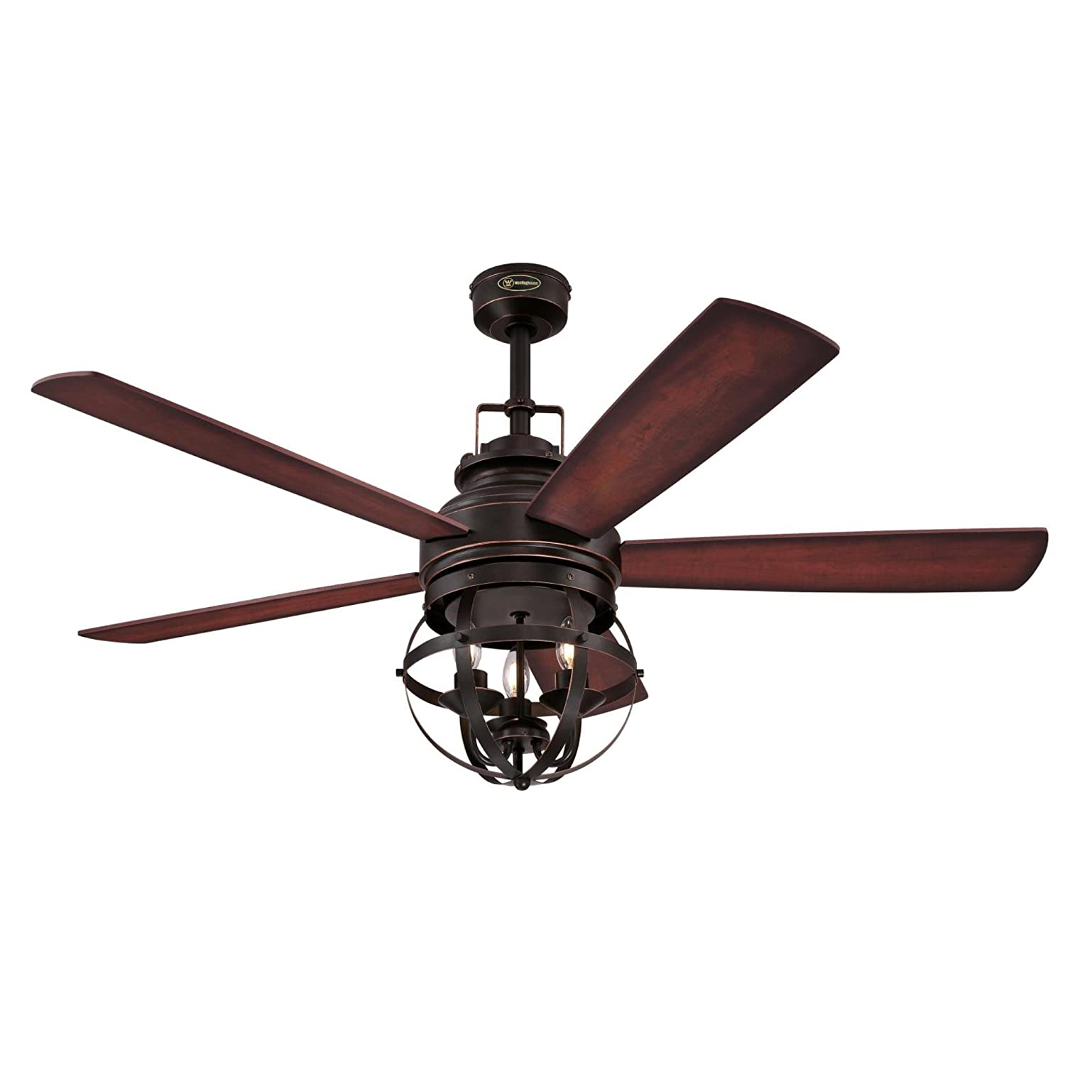 Westinghouse 7217100 Stella Mira 52-Inch Oil Rubbed Bronze Indoor ...