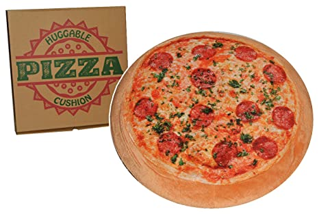 Pizza salami - Almohada Oficina Cojín de pizza pizza Cojín ...