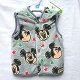(ディズニー) Disney ディズニーベビー子供服 ボアフリースベスト ミッキーマウス サイズ:80