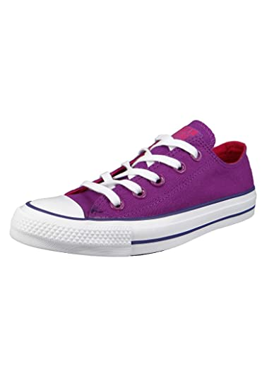 c89637c8e019 Converse Womens Womens Chuck Taylor All Star Ox Trainers in Violet - UK 3