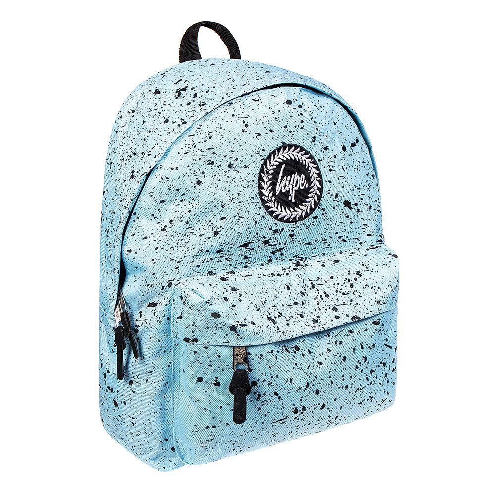 42a75fcc3e Hype Sky Blue Black Speckle Backpack Rucksack Bag - Ideal School Bags -  Rucksack For Boys and Girls  Amazon.co.uk  Shoes   Bags