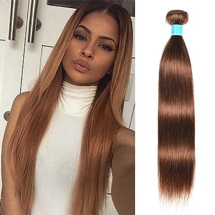 d91ec2fb4 JulyQueen 22\, 4: July Queen Virgin Medium Auburn Straight Hair Weaves 8A  Grade