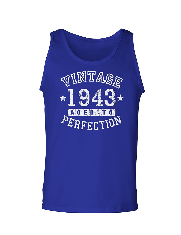 TooLoud 1943 Vintage Birth Year Loose Tank Top Brand