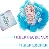 Disney Frozen Childrens Large Shower Sponge Pouf