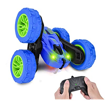 RC Car Toys for 5-12 Year Old Kids Remote Control Car Stunt Cars, 360 Degree Rotating 4WD RC Car, Best Boys Gift: Toys & Games